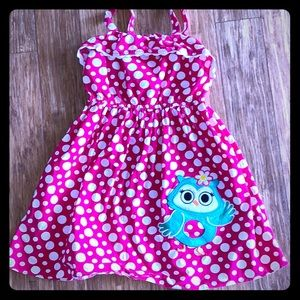 Adorable Polkadot Summer Dress